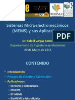 Sistemas Microelectromecánicos (MEMS) y Sus Aplicaciones