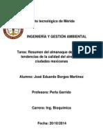 Almanaque de datos  y tendencias de la calidad del aire en 20 ciudades mexicanas Eduardo Borges Martinez.docx