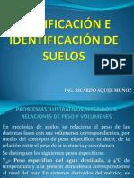 CLASE 8 CLASIFICACIÓN E IDENTIFICACIÓN DE SUELOS.pptx