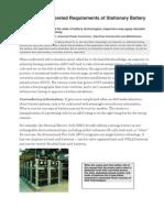 battery room ventilation guidelines