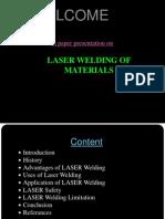Laser Welding Material