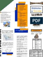 Folheto da Biblioteca 2009-2010