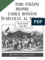 Călători Străini Despre Ţările Române În Secolul Al XIX-lea. Serie Nouă. Volumul 3 (1831-1840)