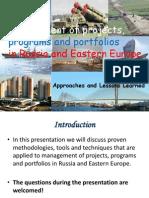Programs in Russia