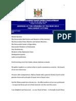 Presidential Speech 2014 - Fiji.docx