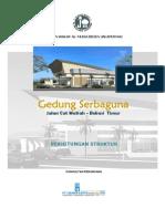 Perhitungan Struktur Gedung Serbaguna.pdf