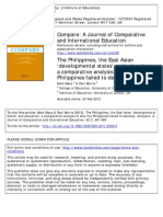 Why the Philippines Failed to Develop by Mark Maca