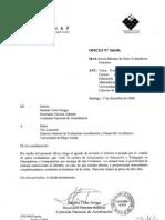 CNAP. Informe de SALIDA 366 Pares Evaluadores año 2006