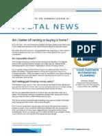 Pivotal News Summer Edition 2014