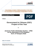 EPDS Project Doc for EINDIA Awards 2014