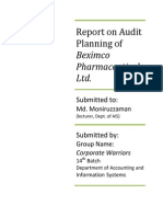 Audit 1Report on Audit Planning of Beximco Pharmaceuticals Ltd.