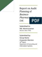 Audit 1Report on Audit Planning of Beximco Pharmaceuticals Ltd.