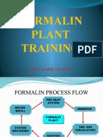 Formalin Plant