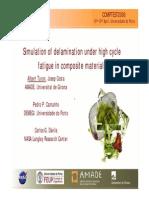 Delamination Under High Cycle Fatigue Composite