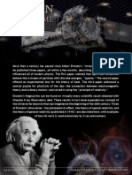 A Brief Summary of Einstein's Work