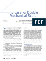 The Case for Double Mechanical Seal