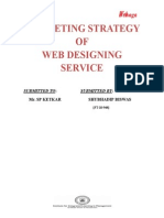 Sales & Marketing Stretagy for Web Development Company