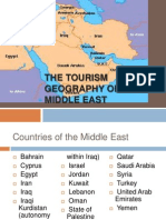 Tourism Geography of the Middle East