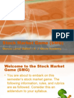 Stock Market Game (SMG)