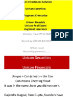 Unicon Investment Solutions -A cheat Company ,Fraud Promoters