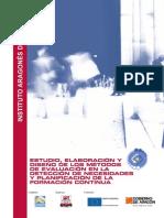 ESTUDIO ELABORACION Y DISEÑO DE LOS METODOS DE EVALUACION EN LA DETECCION DE NECESIDADES Y PLANIFICACION DE  LA FORMACION CONTINUA.pdf