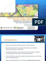 Mapping of the Public Transport System of Metro Manila_ Responding to the Needs of the Poor & Vulnerable Sectors