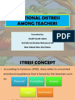 Emotional Distress Among Teachers