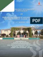 M v D U Katra Conference Brochure