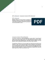 WiFi vs Bluetooth - Comparison