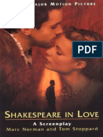 Stoppard, Tom - Shakespeare in Love (Hyperion, 1998)