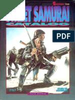 Shadowrun 2E 7104 Street Samurai Catalog