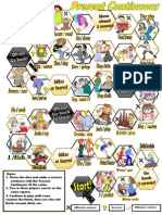 present continuous board game.pdf