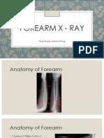 Forearm X - Ray_DMI14042309