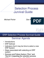 ERP Selection Process Survival Guide