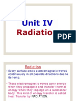 Unit IV Radiation
