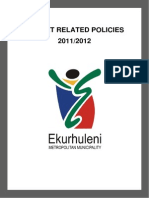 Ekurhuleni Idp_tariff_schedules 1 July 2012