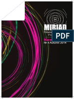 MIRIAD Newsletter #4 Autumn 14