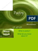 Sonnet, Lyrical, Haiku, Ballad,Epics