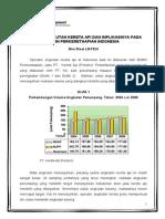 Analisis Angkutan Kereta API Dan Implikasinya Pada Bumn Perkeretaapian Indonesia