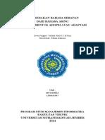 Membedakan Bahasa Serapan Dari Bahasa Asing Kedalam Bentuk Adopsi Atau Adaptasi.pdf
