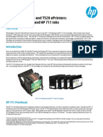 HP Designjet T120 and T520 EPrinters Technical White Paper