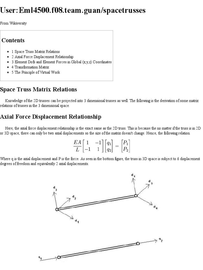 User Eml4500 f08 Team | Matrix (Mathematics) | Cartesian