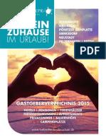 Gastgeberverzeichnis 2015
