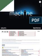 Krups XN300 Pixie Manual