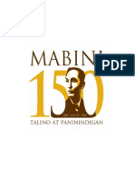 Mabini.narrative