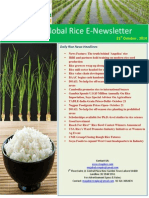 21st October,2014 Daily Global Rice E-Newsletter by Riceplus Magazine