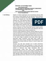 KAK Penentuan Lokasi Cadangan BBM Kalimantan