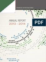 FATF Annual Report 2013-2014
