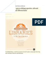 50 Thought Provoking Library and Librarin Quotes