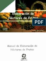 Elaboración de Nectar de Durazno